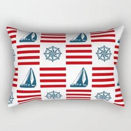 Nautical pattern Rectangular Pillow