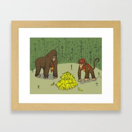 For Kong and Country Framed Art Print
