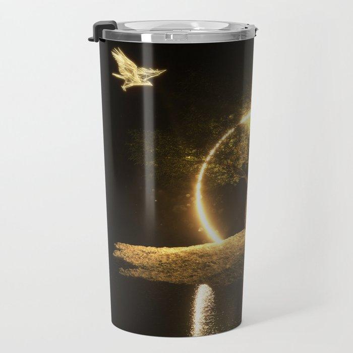 Circle Eagle Travel Mug