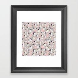 Bullfinch Sqaud Framed Art Print