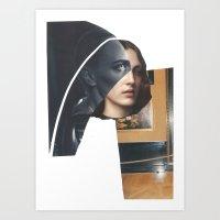 religion Art Prints featuring Religion by Pia Hakko