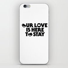 our love iPhone & iPod Skin