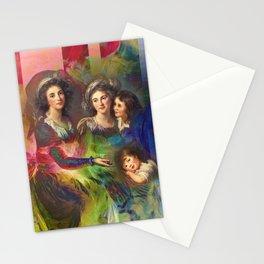 Rainbow Silks Stationery Cards