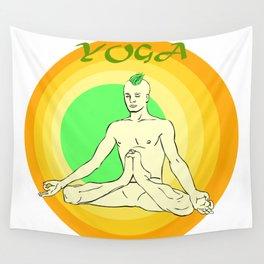 Yoga: asana Wall Tapestry