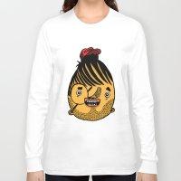 ferrari Long Sleeve T-shirts featuring Freddie Ferrari by crapAdoodle