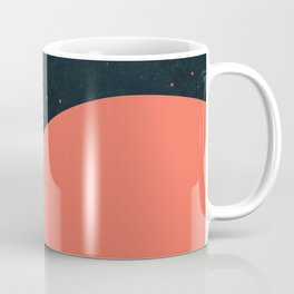 Night fills up the sky Coffee Mug