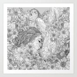 Lovemaking Art Print