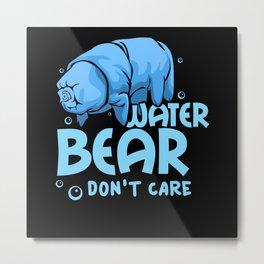 Water Bear - Gift Metal Print