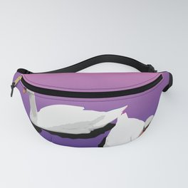 Two Swans Fanny Pack