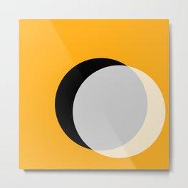 Eclipse - Gold Variant Metal Print