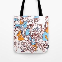 Chain Gang ©Josh Quick  Tote Bag