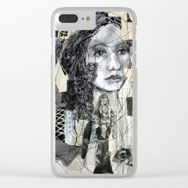 lifelines Clear iPhone Case