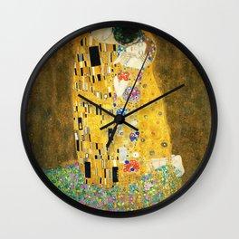 Gustav Klimt The Kiss Wall Clock