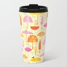 Pretty Parasols for Precipitation Travel Mug