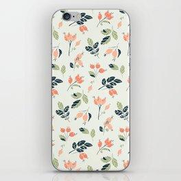 Viburnum Botanical pattern iPhone Skin
