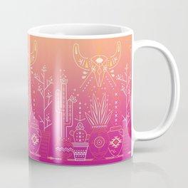 Santa Fe Garden – Pink Sunset Coffee Mug