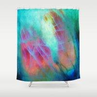 hydra Shower Curtains featuring α Vulpeculae by Nireth