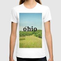 ohio T-shirts featuring Hello Ohio by KimberosePhotography