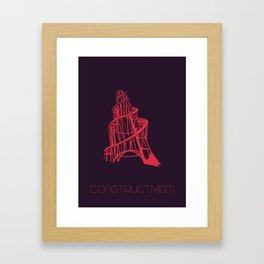 Constructivism Framed Art Print