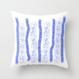 Light Blue Mood Throw Pillow