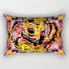 Skull V Rectangular Pillow
