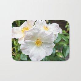 Camellia Bloom Flower Bath Mat