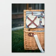 Time for a Picnic Canvas Print