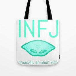 INFJ Alien Tote Bag