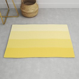 Four Shades of Yellow Rug