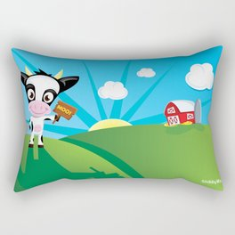 CowMoo Rectangular Pillow
