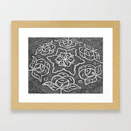 Kolam 2+1 Framed Art Print