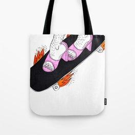 SHE RIDER 2 Tote Bag