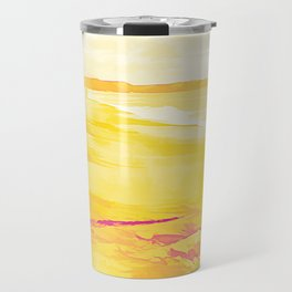 Golden Beach Travel Mug