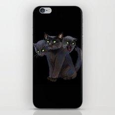 3 HEADED KITTY iPhone & iPod Skin