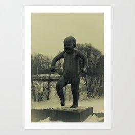 Cries of Vigelandsparken Art Print