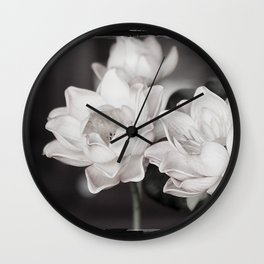 Lovely Water Lily Wall Clock