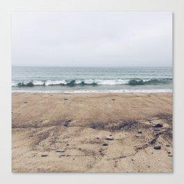 Stormy Sycamore Beach Canvas Print
