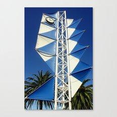 Wind Sails Canvas Print