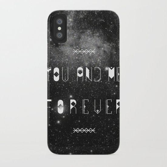 You and Me Forever iPhone Case