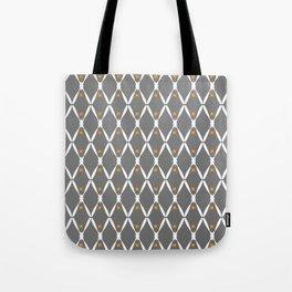 Gray Pattern No. 2 Tote Bag