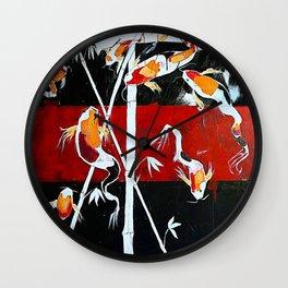 HENDRIX KOI Wall Clock