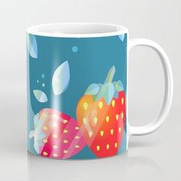Strawberry Pattern Fruit Decoration Coffee Mug