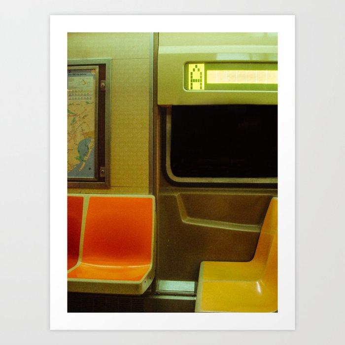 NYC Subway Art Print