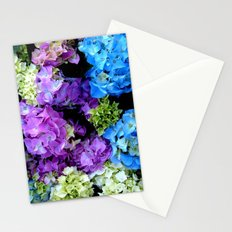 Colorful Flowering Bush Stationery Cards