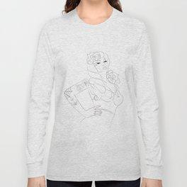 PIN UP Long Sleeve T-shirt