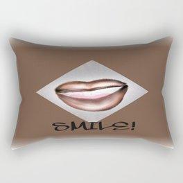 Smile! Rectangular Pillow