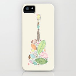 Let your Guitar Sing iPhone Case