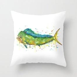 Mahi-Mahi Throw Pillow