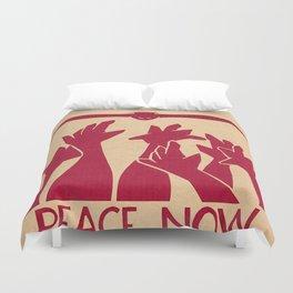 Peace Now Duvet Cover