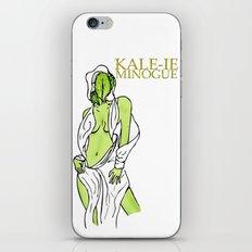 Kale-ie Minogue iPhone & iPod Skin